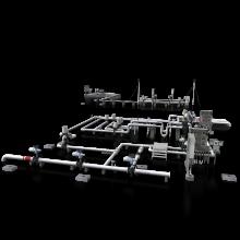长输管线切换区-工业设备-机器设备-CG模型-3D城