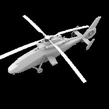 16128 中国陆航WZ19武装直升机-飞机-军事飞机-CG模型-3D城