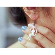 美女耳坠-首饰-3D打印模型-3D城