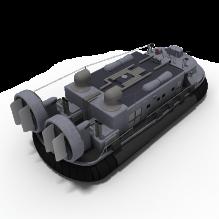 气垫船-船舶-其它-CG模型-3D城