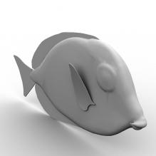 彩色鱼-动物-鱼_水产-CG模型-3D城