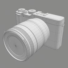 富士X-A1微单-电子产品-其它-CG模型-3D城