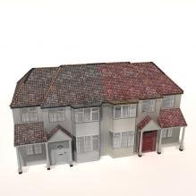 建筑住宅-室外建筑-住宅-CG模型-3D城
