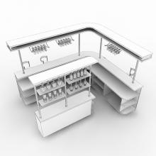 酒吧-室内建筑-商业_办公-CG模型-3D城