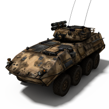 [装甲车panzer] 孤岛危机系列-人物_角色-角色-CG模型-3D城