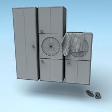 柜子-家居-柜子-CG模型-3D城