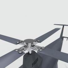 svu200无人直升机-飞机-直升机-CG模型-3D城