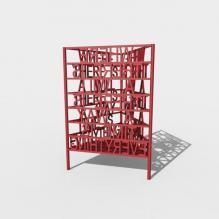 文字笔筒-家居生活-3D打印模型-3D城