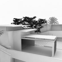 现代风格别墅-室外建筑-住宅-CG模型-3D城