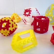 多面铰链-艺术-个性创意-CG模型-3D城