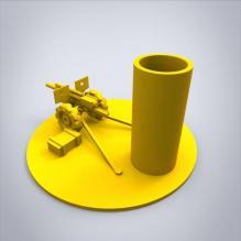 火炮笔插-小工具-3D打印模型-3D城