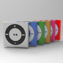 苹果iPod shuffle-电子产品-CG模型-3D城