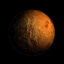金星-科技医疗-航天卫星-CG模型-3D城