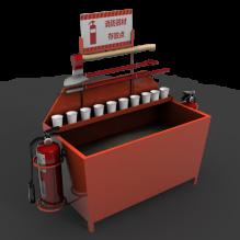 消防器材-工业设备-机器设备-CG模型-3D城