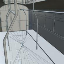 民国有轨电车-汽车-CG模型-3D城