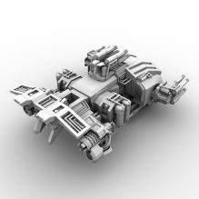 飞船-飞机-私人飞机-CG模型-3D城