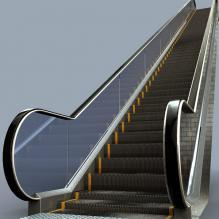 手扶电梯-工业设备-CG模型-3D城