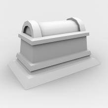 棺材-家居-其它-CG模型-3D城