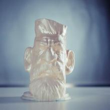 僵尸猎人头像-艺术-3D打印模型-3D城