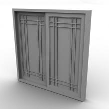 厨房窗户-家居-其它-CG模型-3D城