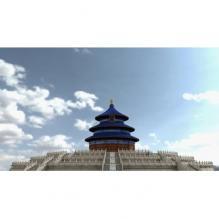 天坛-室外建筑-CG模型-3D城