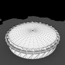 派-食品-杂食-CG模型-3D城
