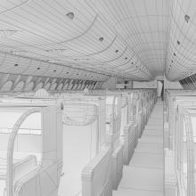空中客车A380飞机-飞机-喷气-CG模型-3D城