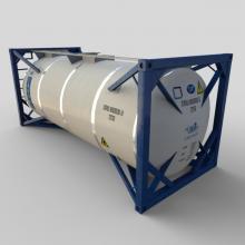 20英尺罐式集装箱-工业设备-其它-CG模型-3D城