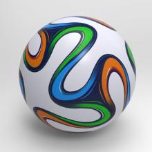 2014巴西世界杯用球Brazuca-体育_爱好-CG模型-3D城