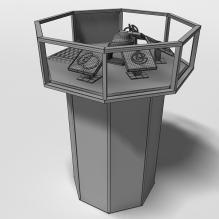 展柜-家居-柜子-CG模型-3D城
