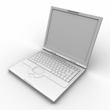 Compaq笔记本-电子产品-电脑-CG模型-3D城