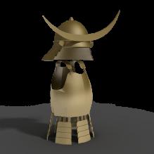 日本武士头盔