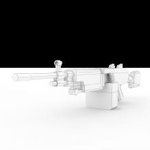 m249_saw机枪-军事_武器-枪-CG模型-3D城