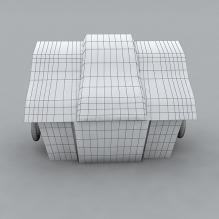 宝箱-家居-柜子-CG模型-3D城