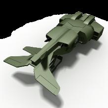 科幻战斗机-飞机-军事飞机-CG模型-3D城