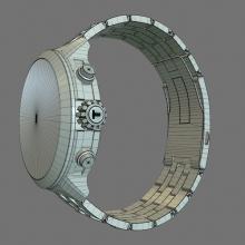 天梭手表2014亚运会特别款-电子产品-其它-CG模型-3D城