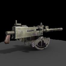 美军重机枪-军事_武器-枪-CG模型-3D城
