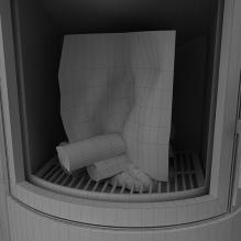 壁炉设备-家居-其它-CG模型-3D城