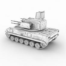 [装甲车panzer] 孤岛危机系列@Asian_AAA(Asia)-人物_角色-角色-CG模型-3D城
