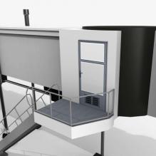 登机桥-室外建筑-基础设施-CG模型-3D城