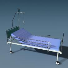 病床-科技医疗-医疗设备-CG模型-3D城