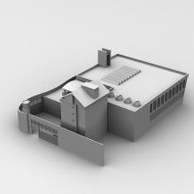 建筑-室外建筑-工业_厂房-CG模型-3D城