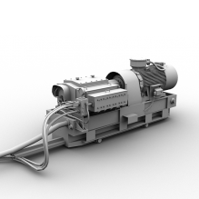 2号乳化泵-工业设备-机器设备-CG模型-3D城