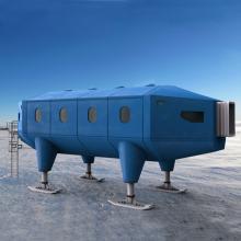 英国哈里六号南极考察站-室外建筑-其它-CG模型-3D城