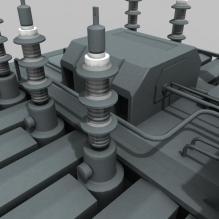 v4变电站-室外建筑-工业_厂房-CG模型-3D城