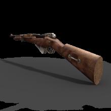 步枪-军事_武器-枪-CG模型-3D城