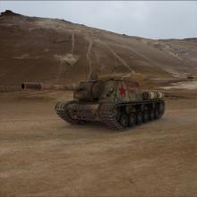 ISU-152-汽车-军事汽车-CG模型-3D城