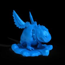 怪兽坐骑-艺术-3D打印模型-3D城