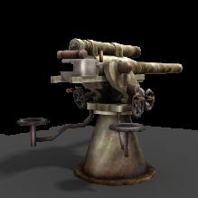 AA防空火炮-军事_武器-其它-CG模型-3D城