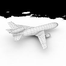 飞机-飞机-私人飞机-CG模型-3D城